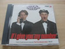 PJ & Duncan (Ant & Dec):    If I give you my number (CD1)    CD Single     NM