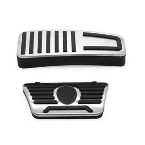 For Maserati Ghibli Quattroporte Gas Brake Footrest Pedal Pad Pedal Cover Kit
