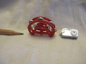 V038 Dollhouse Miniature handbell &Digital Camera musical instrument re-ment1:12