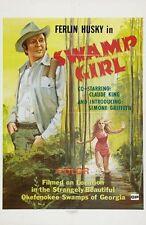 Swamp Girl Movie Poster 24Inx36In Poster