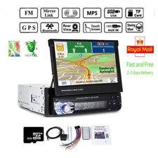 1 Din Autoradio mit GPS Navigation Bluetooth Touchscreen MP5 USB SD + Kamera