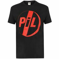 Official Pil Band T Shirt Mens Gents Crew Neck Tee Top Short Sleeve Cotton