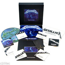METALLICA - RIDE THE LIGHTNING, DELUXE 3LP + PICTURE DISC + 6CD + DVD BOX SET
