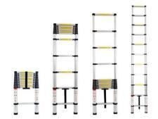 Escalera telescópica de bricolaje de aluminio