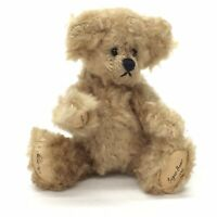 "Wee Gem Mini Teddy Bear Brown Sugar Bean Chu Ming Wu 3.5"" Jointed 1995 #142/1000"