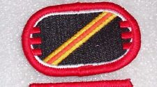 ARMY PATCH, PARACHUTE BACKGROUND OVAL, D TROOP,3RD SQUADRON,16TH CAVALRY RGT
