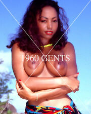1980s NUDE 8X10 BIG BREASTS TITS CHARMAINE CLOSE UP PHOTO!! FROM ORIGINAL NEG4