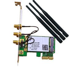 Dual Band 450M WiFi Wireless PCI-E PCIE Card Adapter PC Desktop for Intel 5300