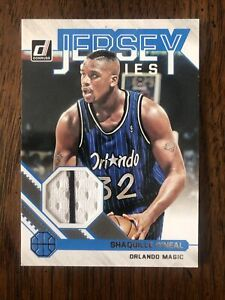 2020-21 NBA Donruss Orlando Shaq Shaquille O'Neal Jersey Series 2 Color Patch