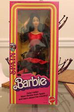 Barbie Doll Spanish Spain Barbie 1982 Mattel Dolls of the World