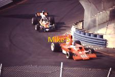 1975 Inaugural Long Beach GP - Gordon Johncock & Jackie Oliver - 35 MM Slide