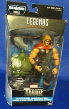 MARVEL COMICS LEGENDS SERIES NINE REALMS WARRIORS THOR BUILDAFIGURE HULK NEW