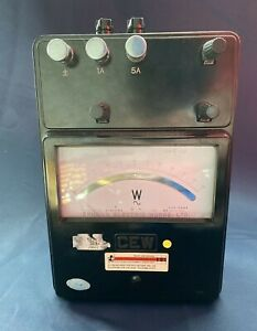 CEW Portable Single Phase Wattmeter