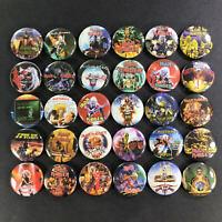"Iron Maiden 1"" Button Lot (30 Pins) Heavy Metal Steve Harris Bruce Dickinson"