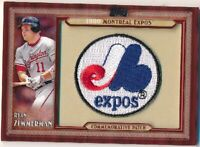 2011 Topps 1980 Montreal Expos Commemorative Patch #RZ Ryan Zimmerman