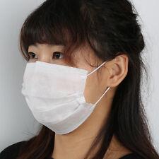 20pcs Disposable Paper Face Masks Professional Medical Flu  Dust Ear Loops X6