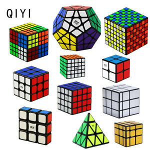 Hot Black Sticker Magic Cube Rubik Puzzle Super Smooth Speed Xmas Toy Gifts