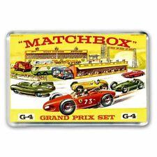 RETRO MATCHBOX TOYS -GRAND PRIX RACETRACK ROADWAY ARTWORK JUMBO Fridge Magnet