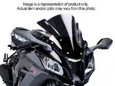 Puig Z Racing Windscreen Dark Smoke 2009-2013 Yamaha YZF-R1 # 4935F