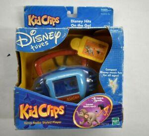 Disney Tunes 2002 Tiger Kid Clips Retro Radio Styled Player Hasbro Jungle Book