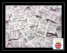 50 X 1g Packets of Silica GEL Sachets Desiccant Pouches Moisture Absorber