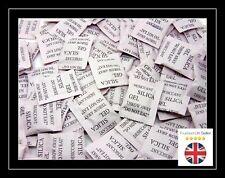 50 - 1 g paquets de gel de silice Sachets Déshydratants Sachets Absorbeur d'humidité UK