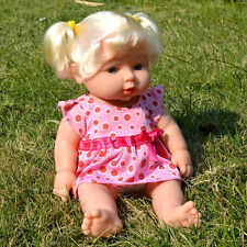 Baby Doll Toddler Girl Toy Lifelike Kid Parents-to-be Practice Changing Clothes