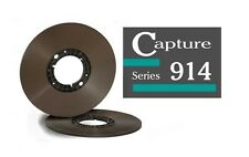 """CAPTURE SERIES 914 TAPE REEL TO REEL 1/4"""" X2500' 10.5"""" HUB ECOPACK RTM RMGI NEW"""