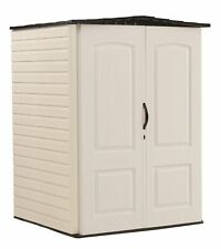 Rubbermaid Medium 106 Cubic Feet Gardening & Tools Vertical Outdoor Storage Shed