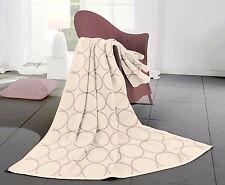bocasa Wohndecke Cotton Home sunday circle natur quarz (rosa)  70% BW,  150x200
