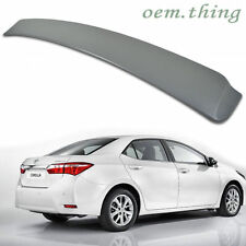 TOYOTA ALTIS Corolla Roof Window Spoiler Wing unpainted ABS 14 18 New