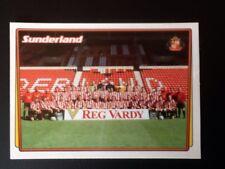 Merlin Football Sticker #370 2001-02 Sunderland Team Picture Mint Condition