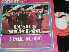 "7"" - Boston Show Band Time to go & Wow Wow Wow - Cornet Beat # 6065"