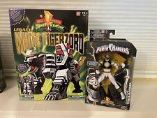 Power Rangers Legacy White Tigerzord And Legacy White Ranger