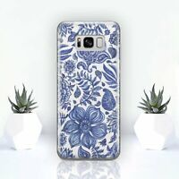 Flowers Samsung S8 S9 Plus Cover Cute Samsung S7 Edge Case Floral Samsung S10e