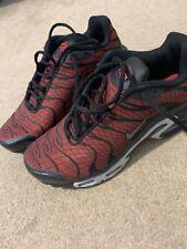 Tn Nike Air 7.5 7 1/2 Rojo Negro