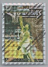 1996-97 Topps Finest Basketball Alonzo Mourning Refractor Card # 118 Theme G1