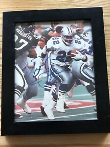 Emmitt Smith Dallas Cowboys Signed Autographed 8x10 Picture