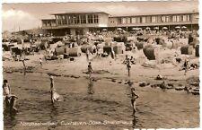 AK Cuxhaven -Döse.Strandhaus.Gel.1963.Viele Leute..