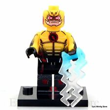 Custom REVERSE Flash minifig DC Comics Supereroe si adatta con LEGO UK Venditore