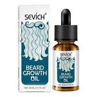 Sevich L'Huile Naturelle de Croissance de Cheveux de Moustache de Barbe Stim hu1