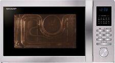 Sharp R-822stwe Forno a Microonde Grill Ventilato 25 Lt. Grigio