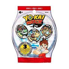Lotto Yo-kai Watch 5 Medaglie Serie 1 Rare Shogunyan Hasbro Yokai RARO Maclama