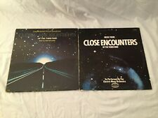 Lot Of 2 Close Encounters Of The Third Kind Records Soundtrack & Electric Moog