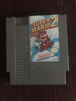 Super mario bros 2 Nintendo nes CLEANED  & TESTED works great!! Fast shipping!