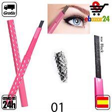 #1 Lapiz impermeable NEGRO CEJAS Ceja delineador ojos maquillaje dibujar *Envío