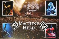 "MACHINE HEAD POSTER ""4 LIVE PICS"""