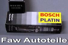 LPG / Gas Bosch Fr 6 Ki 332S Bujías 4X Platinium Velas