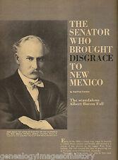 Albert Bacon Fall - New Mexico Senator Of Disgrace