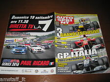 AUTOSPRINT 2010/36=RALLY UDINE ANDREUCCI=AUDI A7/MERCEDES CLS=